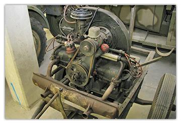 Asphm Moteur De Vw Kubelwagen Type 82 01