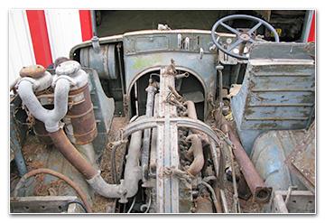 ASPHM - Projet de restauration d'un Trattore Fiat-SPA TM40