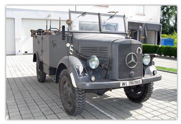 """asphm - mercedes benz l1500 a """"mannschaftswagen"""""""