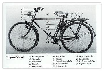 Vélo Truppenfahrrad Wehrmacht Adlerwerke AG . Velo_truppenfahrrad_10